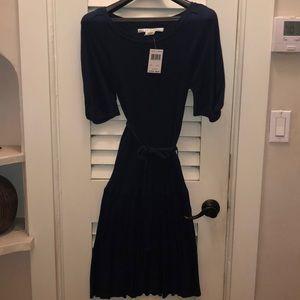 Max Studio Navy Sweater Dress
